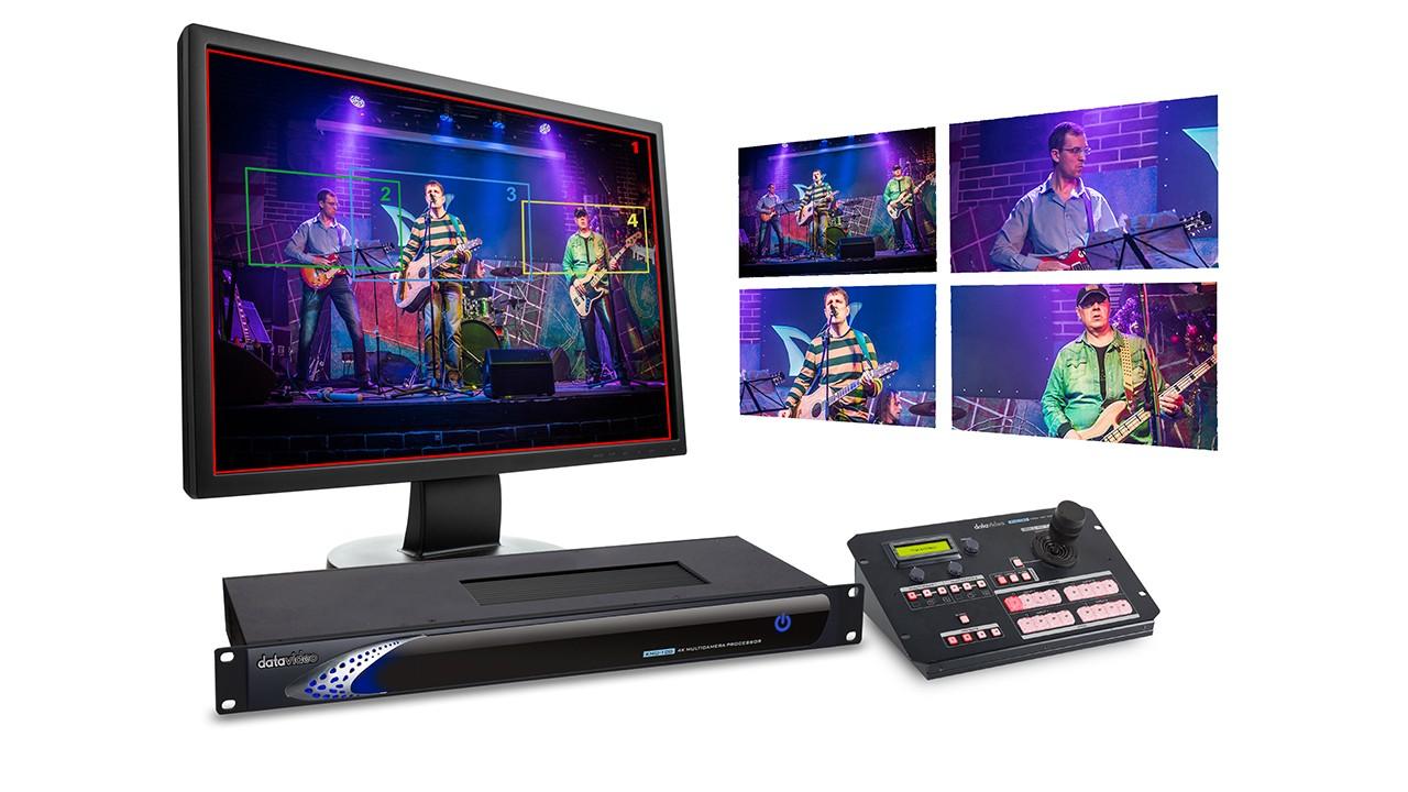 KMU-100 4K转高清8机位影像处理器使用说明