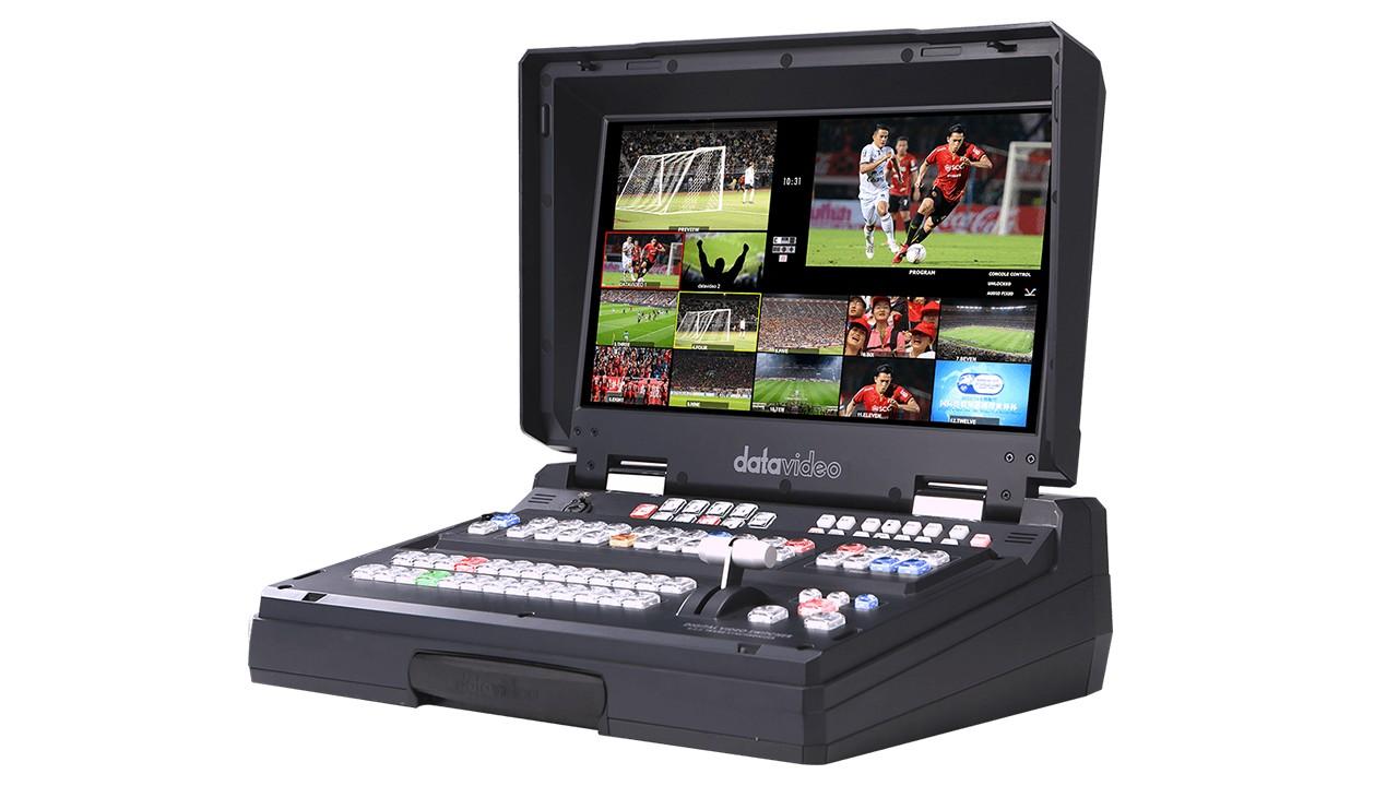 HS-2850 HD/SD 8/12通道便携式移动演播室使用说明