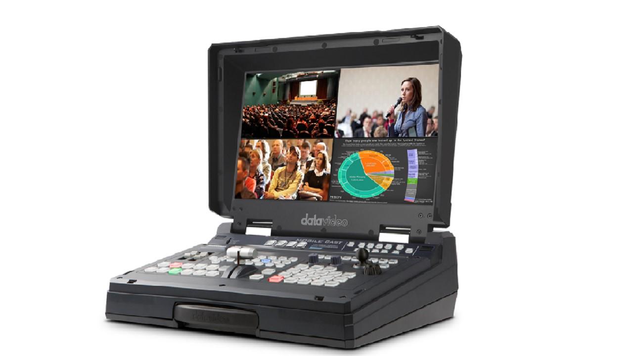 HS-1600T 4通道HDBaseT便携式移动录播演播室使用说明